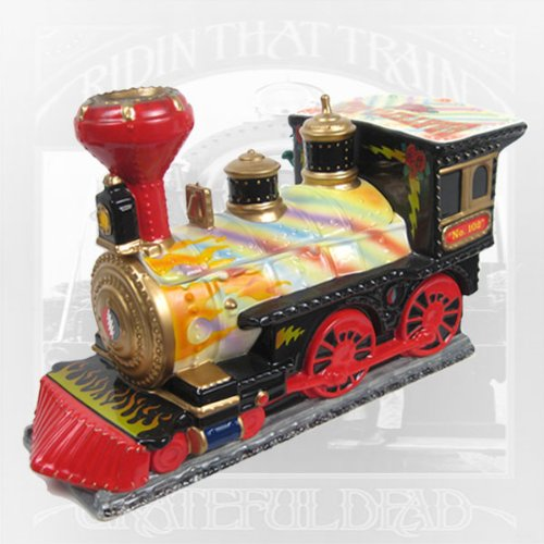 1999 Grateful Dead Premier Edition Train Cookie Jar