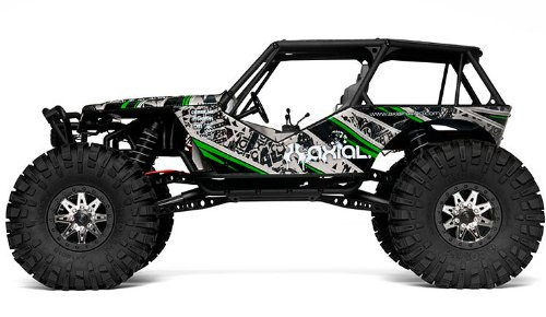 Axial Wraith 4Wd 1/10Th Rtr Rc Electric Rock Racer