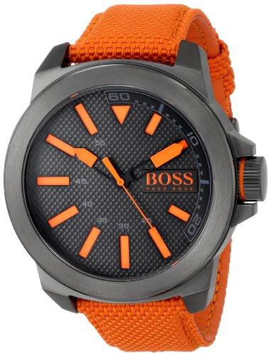 BOSS Orange Men's 1513010 New York Analog Display Quartz Orange Watch