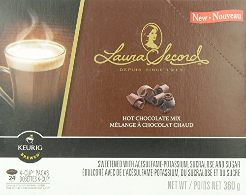 Laura Secord Hot Chocolate Mix K-Cups for Keurig Brewers, 24-Count