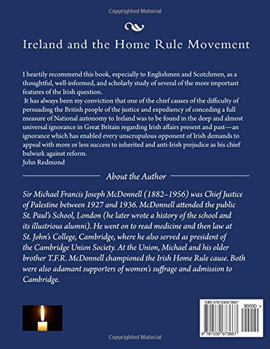 Ireland and the Home Rule Movement: Irish History