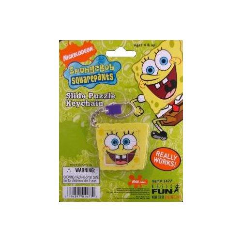 SpongeBob Squarepants Slide Puzzle Keychain - 1