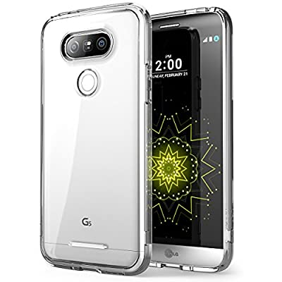 LG G5 Case , [Scratch Resistant] i-Blason **Clear** [Halo Series] Bumper Case Cover for LG G5 2016 Release from i-Blason