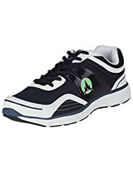 ADK Navy & White Casual Shoes For Men