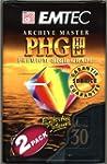 CASSETTES VHS-C EMTEC HIGH GRADE PHG...