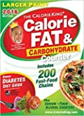 The Calorie King Calorie Fat & Carbohydrate 2016 Edition Pocket Size