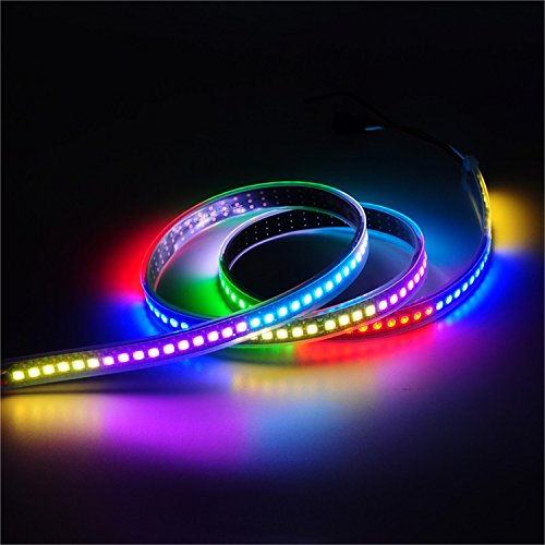 Mokungit 32ft 1m 144 pixels programmable led strip light ws2812b mokungit 32ft 1m 144 pixels programmable led strip light ws2812b ws2811 built in 5050 rgb aloadofball
