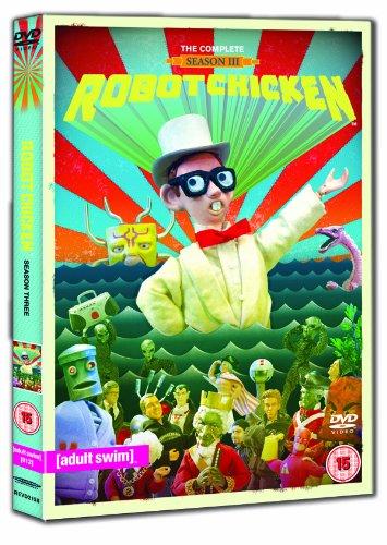 ROBOT CHICKEN - SERIES 3 [IMPORT ANGLAIS] (IMPORT)  (COFFRET DE 2 DVD)