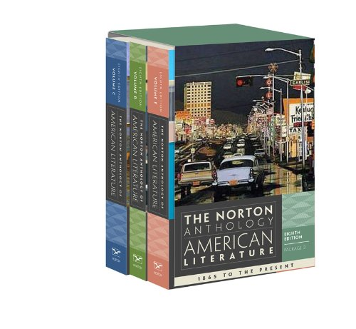 The Norton Anthology of American Literature (Eighth Edition)  (Vol....