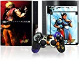 PS3 Official Street Fighter IV Controller Faceplate and Console Skinz - Characters
