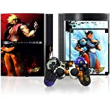 Mad Catz PS3 Street Fighter IV Controller Faceplate & Console Skinz Design 2: Three (PS3)by Madcatz