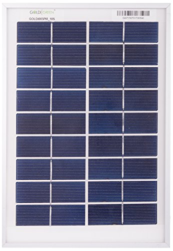 Goldi Green 10W Silicon Solar Panel
