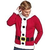 Goodsouls Santa Christmas Jumper In Red Size XXL