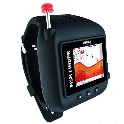 Lucky Russian Version Watch-type Wireless 45M Fish Finder