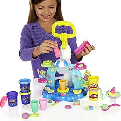 7 X Play-Doh Sweet Shoppe Swirl and Scoop Ice Cream Playset