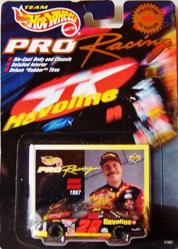 Hot Wheels 1997 1st Edition Ernie Irvan Pro Racing Superspeedway 1:64 Scale - 1