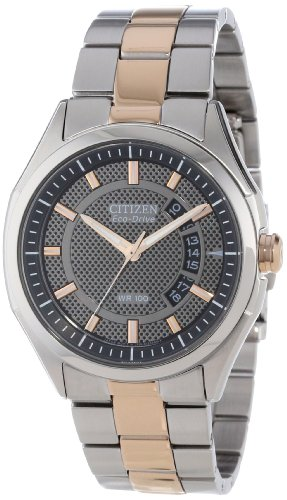 Citizen Men's Drive from Citizen Eco-Drive HTM 2.0 Two Tone Rose Gold Watch