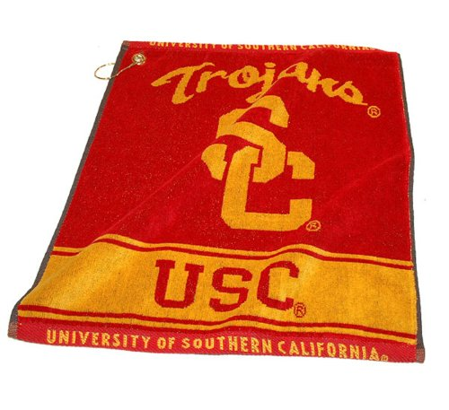 NCAA Southern California Woven Team Golf Towel at Amazon.com