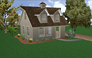 16x20 Cabin w/loft Plans Package, Blueprints & Material List