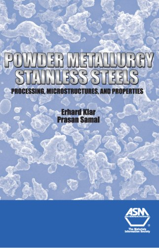 Powder Metallurgy Stainless Steels: Processing, Microstructures, and Properties