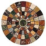 Thirstystone Marble Mosaic Coasters