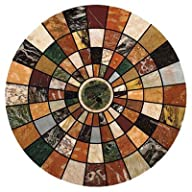 Thirstystone Marble Mosaic Coasters