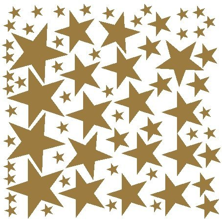 68-star-stickers-removable-star-wall-decals-gold