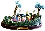 不思議の国のアリス ティーパーティー WDCC Enchanted Places Miniature Alice In Wonderland Tea Party Scene ディズニーフィギュア Walt Disney Classics Collection社【並行輸入】