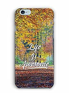 YuBingo Life is Awesome Designer Mobile Case Back Cover for Apple iPhone 6S