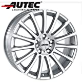 Alufelge Autec FANATIC VW Golf III 1H, 1HX -/O, /1, /OF 7.5 x 17 Brillantsilber poliert