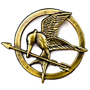 The Hunger Games Mockingjay Pin Badge