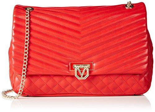 valentino-margaritas-sacs-baguette-femme-rouge-rot-rosso-30x21x8-cm-b-x-h-x-t