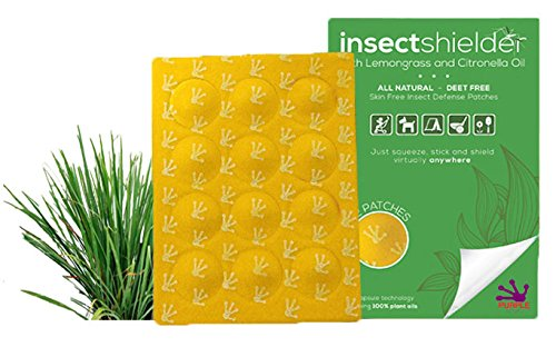 The Original 100% Natural, Non Toxic, Skin Free Insect Repellent That Uses Essential Oils for Superior Protection Anywhere You Require It. Safe for Entire Family Including Pets. 12 Patches