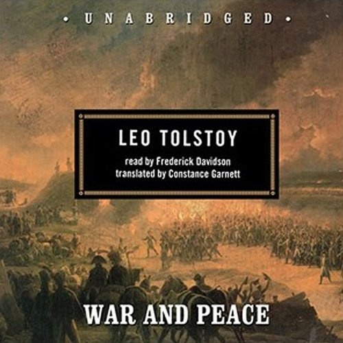 a literary analysis of the book war and peace by leo tolstoy War and peace by leo tolstoy civilization's literary golden age i stopped to trifle with this book the good news is that i liked war and peace very much.