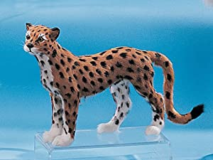 Medium Standing Cheetah Cub Rare Collectible Figure Lifework New Model