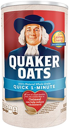 Quaker Oats Quick 1 Minute Oatmeal