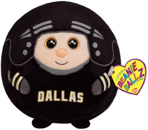 Ty Beanie Ballz Dallas Stars Plush, Regular front-835269