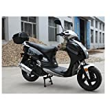 TaoTao POWERMAX-150 Gas Street Legal Scooter - Black