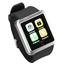 buy Uwatch U10L Universal Bluetooth Smartwatch For Ios/Android Touch Screen Smart Watch Silver
