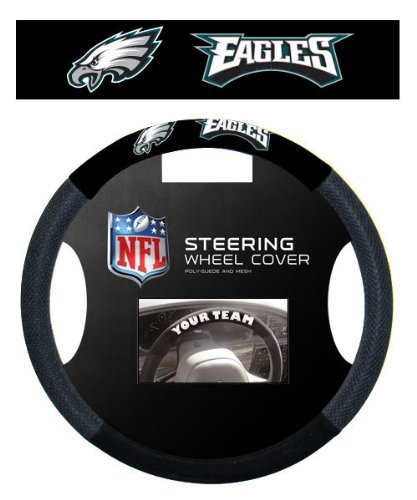 Philadelphia Eagles Steering Wheel Cover at Amazon.com