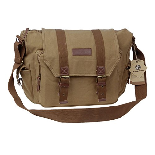 Koolertron Canvas Camera Shoulder Bag