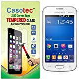 Casotec 2.5D Curved Edge Tempered Glass Screen Protector For Samsung Galaxy Star Pro S7262