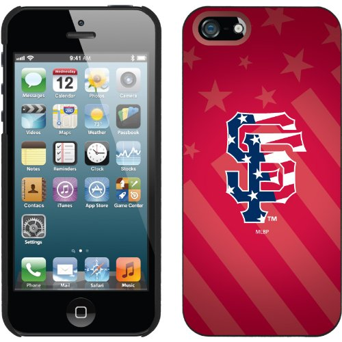 Special Sale San Francisco Giants - USA Red design on a Black iPhone 5 Thinshield Snap-On Case by Coveroo
