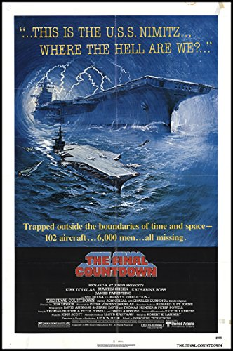 the-final-countdown-1980-original-movie-poster-action-sci-fi-dimensions-27-x-41
