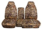 1998-2003 Ford Ranger Truck Seat Covers Camouflage Seat Covers (Duck Hunt Camouflage)