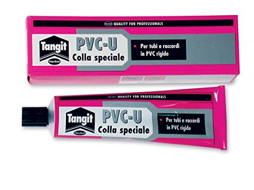 Colla speciale x tubi PVC rigido TANGIT tubetto 125 Gr ripara sigilla Henkel