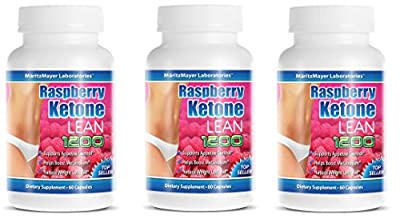 MaritzMayer Raspberry Ketone Lean Advanced Weight Loss Supplement 60 Count 3-Pack