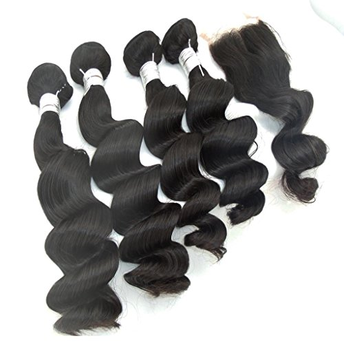 Vedar-Beauty-Vedar-Beauty-4-Bundle-Hair-Extension-1-Closure-Loose-Wave-Virgin-Peruvian-Human-Hair-Wefts