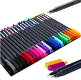 Monami 02027 Sketch Drawing Pen, Point Paint Marker Pen,pack of 24 Assorted Colors