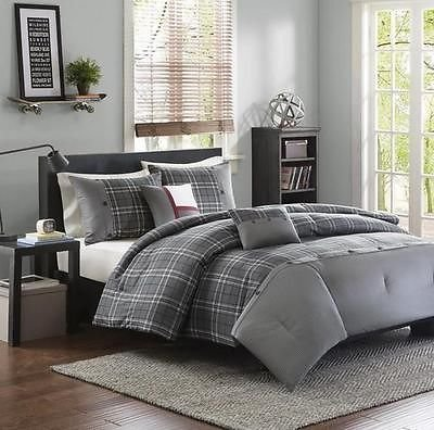 Plaid Bedding Sets For Boys
